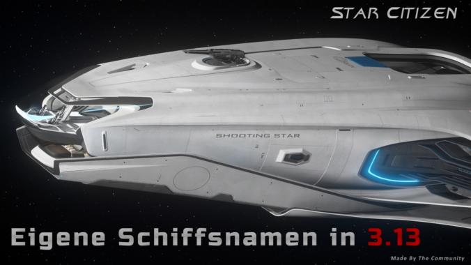 Schiffsnamen in 3.13