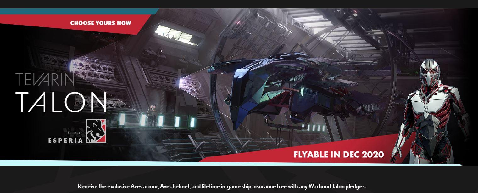 Esperia Talon - Flyable 12.2020