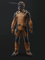 Gefangenen Uniform
